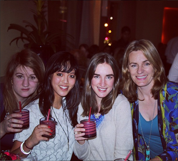 Beccy Nuthall, Nicole Gomes, Olivia Round, Maggie Gould