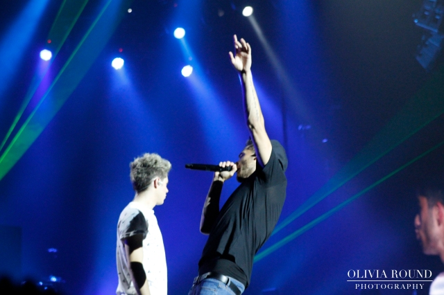 Liam hitting the high notes © Olivia Round
