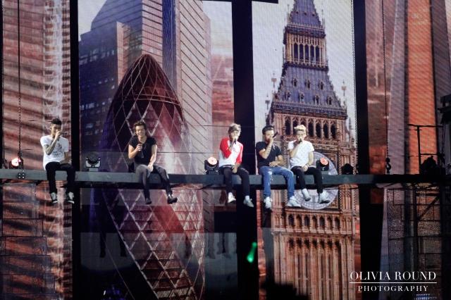 Zayn Malik, Harry Style, Louis Tomlinson, Liam Payne, Niall Horan  © Olivia Round Photography