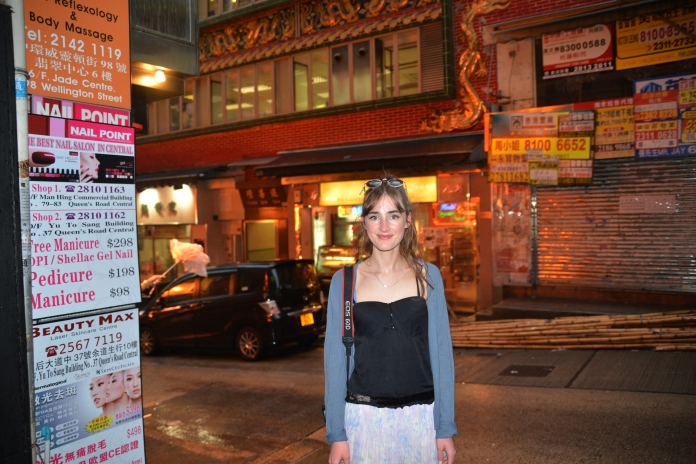 Exploring the streets of HK