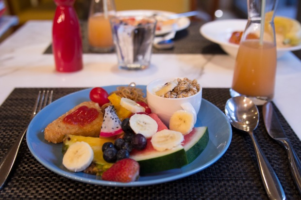 Lovely continental breakfast