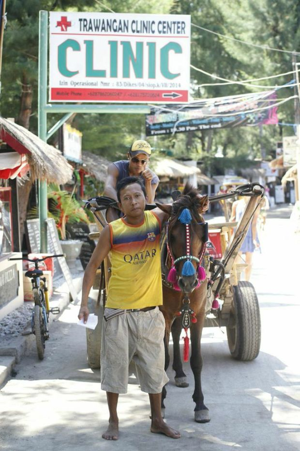 Guy with his mule