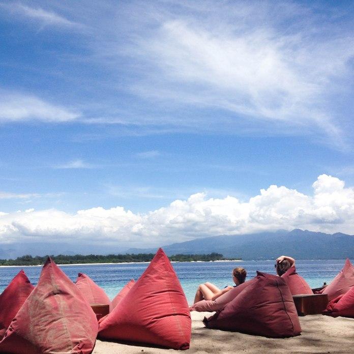 Beach beanbags