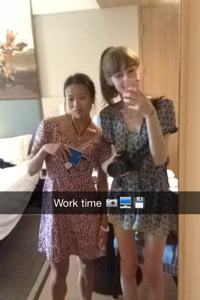 Snapchats from abroad