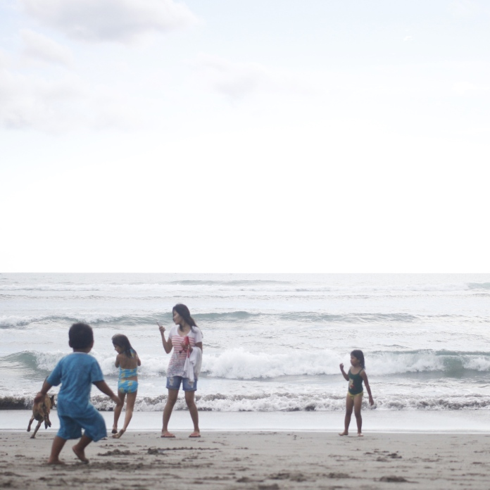 "The squeals of delight and laughter as these kids ran after their dog made me so happy. It will be my goal to never lose that inherent childlike fun we all have amongst our worldly, ""high and mighty"" adult facades. Because really all we are is children in bigger bodies with more cynicism and less naivety. #balimusings ✈️"