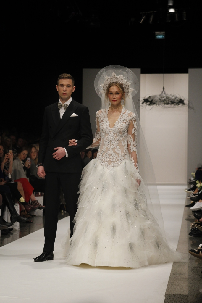 The NZ Weddings Show. Think tulle, sequins and chiffon... Some of the headdresses were a bit OTT, but I loved the simple yet exquisitely elegant designs