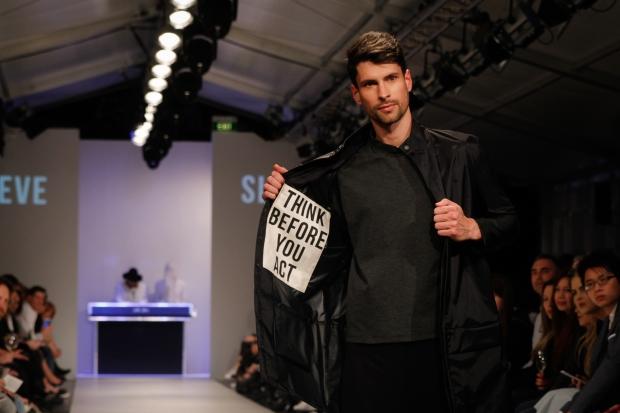 SLAEVE's hidden positivity messages on their garments.