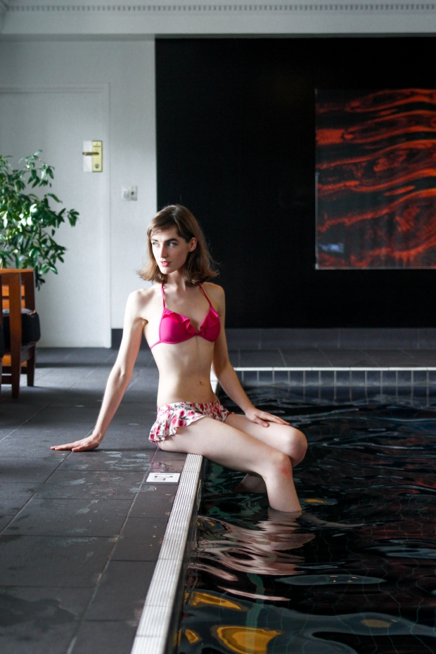 The gorgeous pool