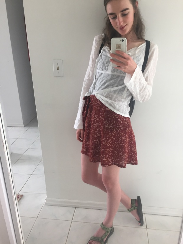 Photo of my outfit