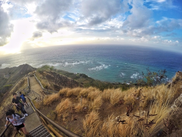 Photo of view from Diamond Head monument